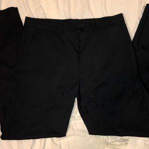 Kenneth Cole Reaction Dress Pants Black 36x34